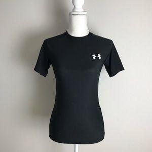 Under Armour - Black sport T-shirt Heat Gear